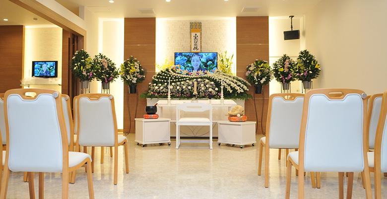 お客様の想いに寄り添ったご葬儀を実現いたします。